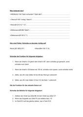 Arbeitsblatt zu Funktionen in Excel (Wenn, Zählenwenn,...)