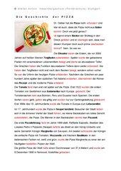 Die Geschichte der Pizza