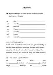 AB Adjektive erkennen und Nomen bilden