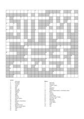 Kreuzworträtsel zu Highlight 1 Unit 8,