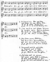 Die Spinnerin - Liedsatz mit Blockflöten