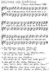 Edelmann und Schäferin - Liedsatz mit Blockflöten