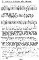 alte Volkslieder zwei- und mehrstimmiger gesetzt