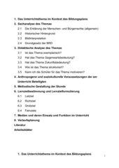 UR-Entwurf: Erklärung der Menschen und Bürgerrechte