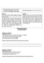 Investiturstreit: Reichstag in Worms und Kirchenbann