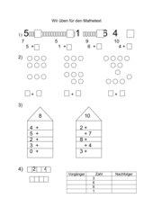 Übungen Zahlenraum bis 10