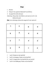 Bingo-Spiel