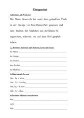 Grammatikabschlusstest 5/6 Gymnasium