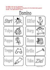 Domino für Klasse 1 (Freiarbeit/Vertretungsstunden)
