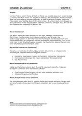 Erkrankung des menschlichen Ohres - 4 Infoblätter