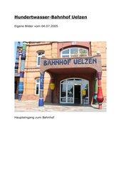 Hundertwasserbahnhof Uelzen