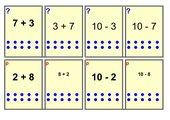 Zahlenzerlegung, Umkehraufgaben, Tauschaufgaben