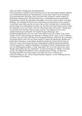 Jakob van Hoddis Nachtgesang, Kurzinterpretation