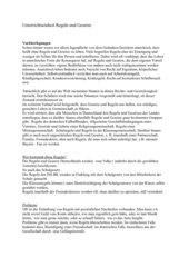 Regeln und Gesetze Schulordnung, Klassenordnung