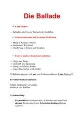 Ballade + Zauberlehrling