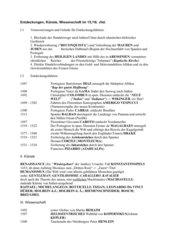 Endeckungen, Künste,  Wissenschaften und Politik im 15./16.Jhd.