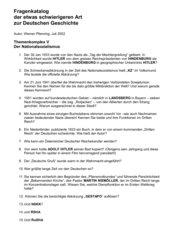 54 schwierige Fragen zur Geschichte des Nationalsozialismus