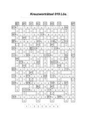Kreuzworträtsel 13 - 30