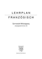 Lehrplan Franzoesisch Hessen G8