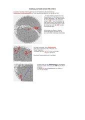 Anleitung zur Handhabung der Drehbaren Sternkarte