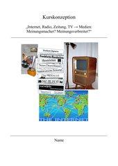 Neigungskurs Sachsen: Medien