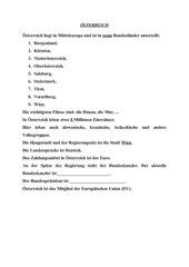 Tafelbild / Oesterreich