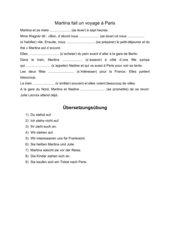 Übungen zu reflexiven Verben (Präsens)