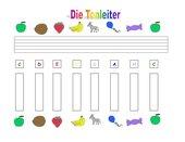 Tonleiter lernen für Glockenspieler