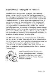 Projektvorschlag: Halloween
