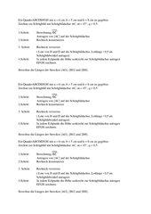 Anleitung Schrägbild Quader