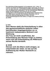 Deutschland in den 50er Jahren. Wirtschaftlicher Fortschritt emanzipatorische Regression?