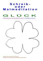 Schreib- oder Malmeditation /  Zum Thema