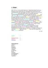 Diktat zu Nominalisierung von Verben und Adjektiven