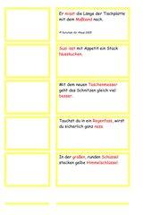 lesekarten für ss und ß