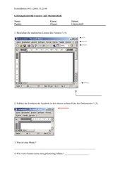 Leistungskontrolle Fenstertechnik