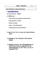 Japan - Internetrecherche