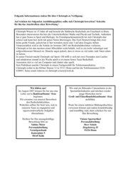 Arbeitsblatt zum Anschreiben einer Bewerbung Kl.9