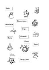 Weihnachtswörter