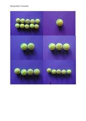 Mengenbilder Tennisbälle