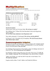 Multiplikation