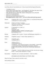 Materialliste 5. Klasse