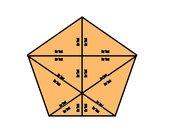 Puzzle in Fünfeckform