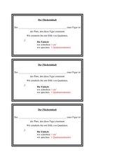 Inhalt und Umfang von Flächen in der 4. Klasse