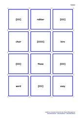 Lautschrift - Memo-Spiel / Zuordnungsspiel für den Anfangsunterricht