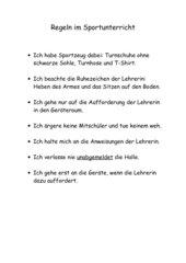 Sportregeln