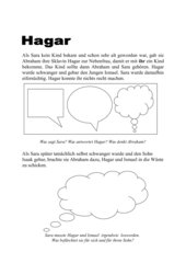 Hagar, Nebenfrau Abrahams