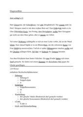 Diagnosediktat 5./6. Klasse Hauptschule