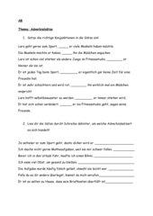 4teachers - Übungen zu Adverbialsätzen