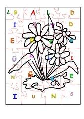 Frühlingspuzzle