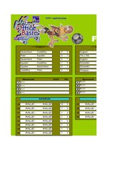 Spielplan zur Fußball-WM 2006 mit Excel